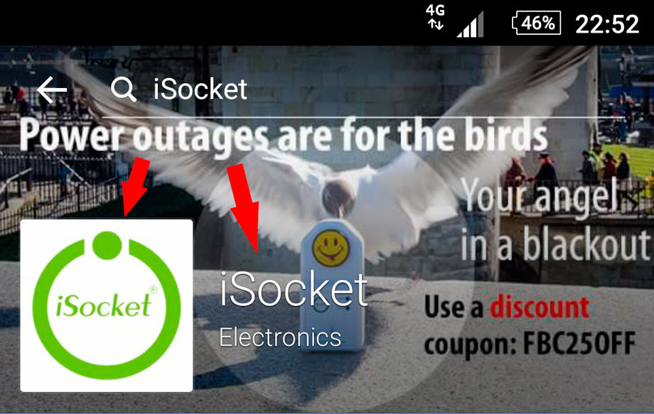 Power outages - iSocket (association)