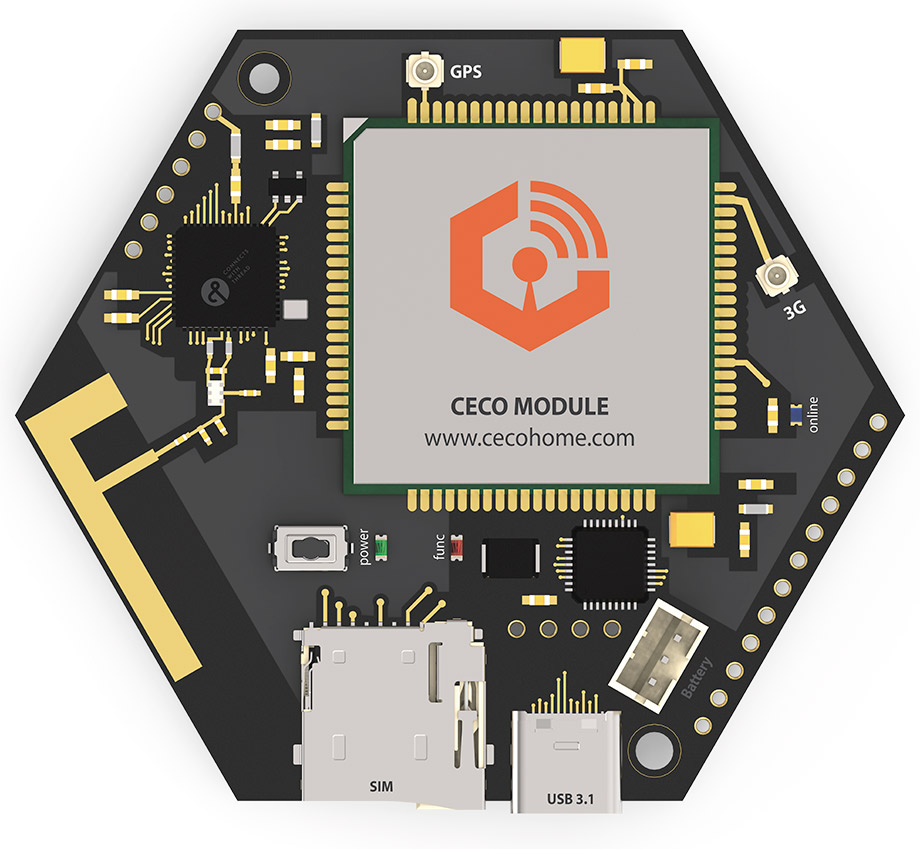 CECO MODULE - The World's First Cellular with Thread Module, for Internet of Things